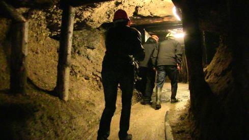 Entrando dentro del túnel