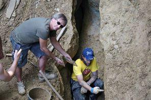 Aquí es donde se encontró materia orgánica de 29.200 años + / - 400 años AC