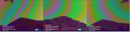 Campo electromagnético sobre las pirámides de Bosnia