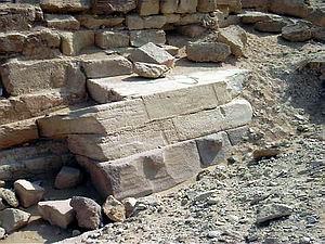 Una de las pirámides subsidiarias de Menkaura