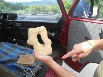 Descubrimiento de un artefacto