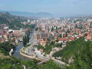 Sarajevo, la capital de Bosnia y Herzegovina