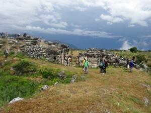 Parte de la muralla de que da hacia el valle