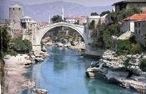 Antiguo puente en Mostar