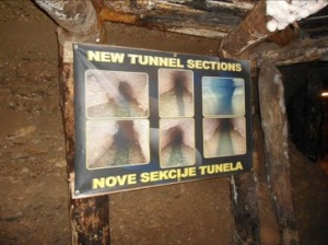 Nueva sección de túneles