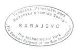 Sarajevo stamp