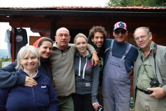 Un grupo español con Zombi, Larry de EEUU y algunas inglesas