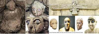 Annunaki faces