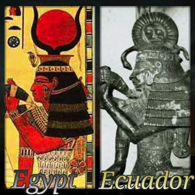 Isis in Egypt and Ecuador