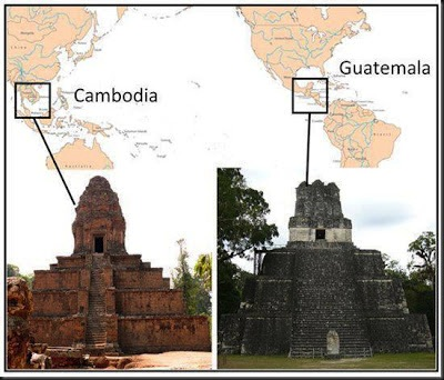 Stupas on Pyramids
