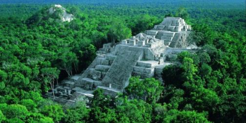Templo Maya - El Mirador