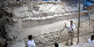 Excavación del relieve