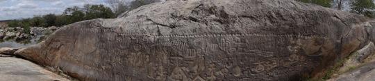 Monumento prehistórico en Brasil