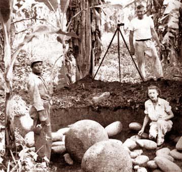 La dra. Doris Stone fue la primera investigadora del enigma de las esferas de piedra en Costa Rica