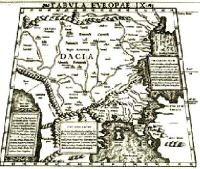Mapa de Dacia