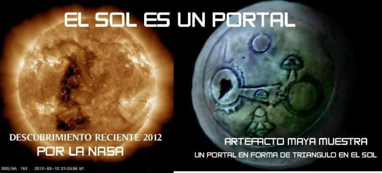 El Sol es un Portal Interdimencional