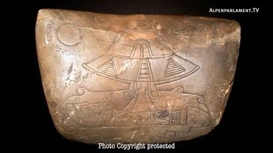 Un astonauta Maya