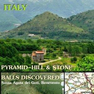 Pirámides en Monteveccia, Italia