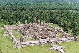 El templo de Angkor Wat en Camboya