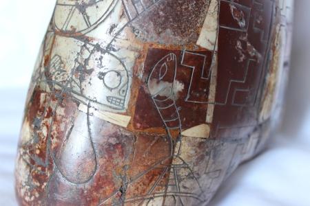 Cabeza E.T.detrás izquierda (detalle)