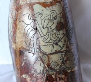 Cabeza E.T. parte tracer (detalle)
