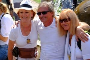 Birgitte Knaus y Tim Moon en el centro, Bosnia 2013