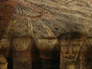 Cámara dentro de la hipogea Tierradentro