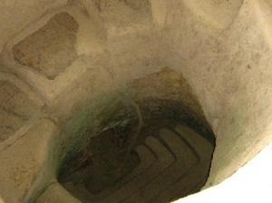 La Hipogea - Entrada a la tumba precolombiana