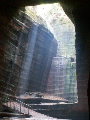 La gruta de Lonyou en China
