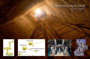 La misteriosa tumba de Osiris en Giza