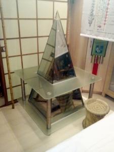 Pirámide personal, para tener en casa
