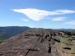 Fuerte de Samaipata en Bolivia