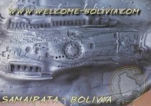 Es muy semejante al fuerte de Samaipata que fué descubierto en Bolivia