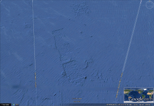 Huellas de gigantezcos edificios submarinos?