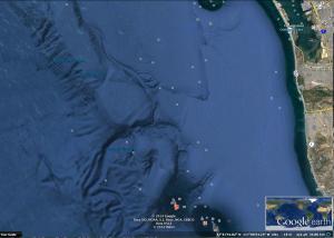 Base no. 3, se parece a la base encontrada en frente de Malibu, que publiqué anteriormente