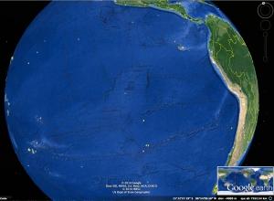 Qué es ese rectángulo que se encuentra en el centro del Pacífico?