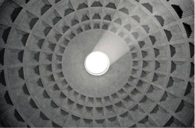 Ceiling-in-the-Pantheon