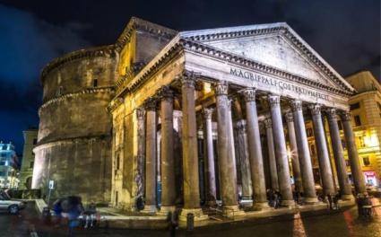 Roman-Panethon-concrete-building