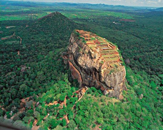 La gran roca del León Sigiriya