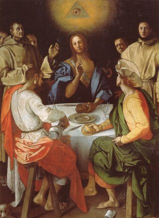 Copy of Pontormo's The Supper at Emmaus