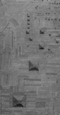 Algunas de las centenares de Pirámides Chinas