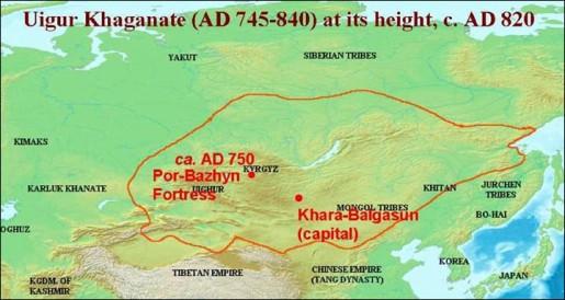 Mapa de Por-Bajin