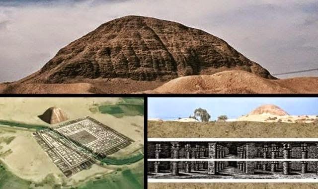 Laberinto y pirámide de Amenemhat