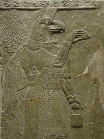 Antiguo rey Sumerio-Annunaki