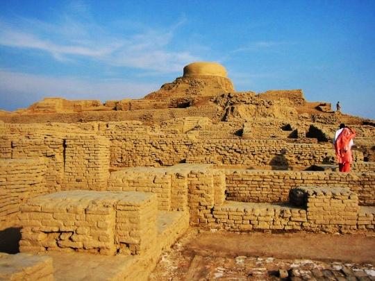 Mohenjo-Daro, restos de una antigua civilización