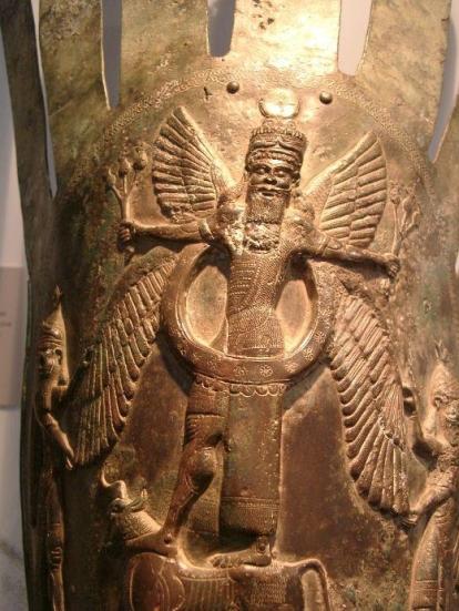 El rey Sumerio Anu