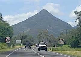 La pirámide Gympie en Australia