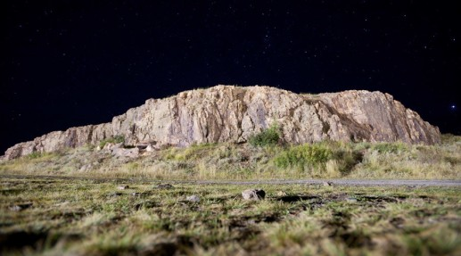 Una roca al pie de la colina Shamanka en Arkaim, una reserva cultural histórica en Rusia. © Pavel Lisitsyn / RIA Novosti