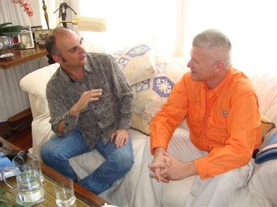Rafapal interviewing Semir 2.jpg